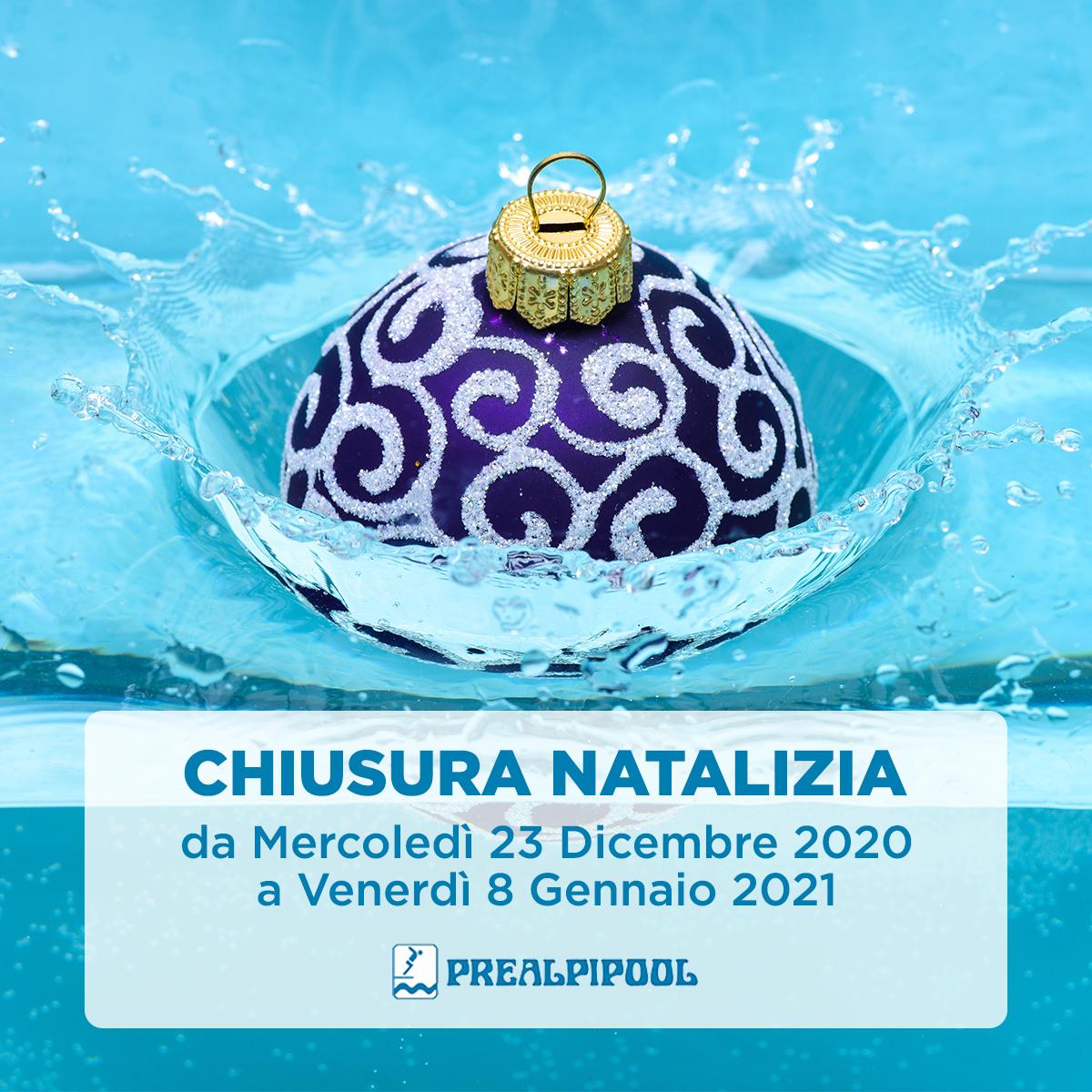 Prealpipool Chiusura Invernale 2020/2021