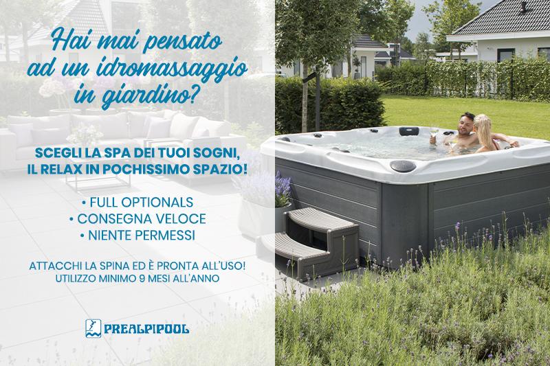 Prealpipool Idromassaggio in Giardino